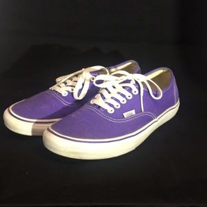 Purple Authentic Vans